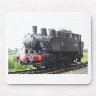 Tren del vapor del tanque del yanqui alfombrilla de raton