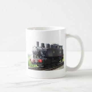 Tren del vapor del tanque del yanqui taza de café