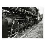 Tren del vapor del vintage cojinete