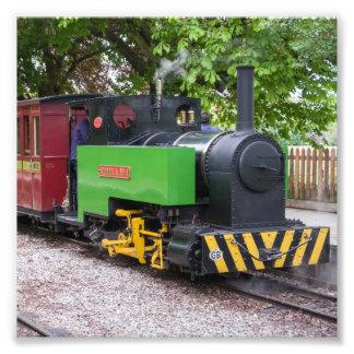 Tren del vapor en el halcón de Leighton Fotografías