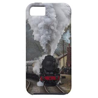Tren del vapor funda para iPhone 5 tough