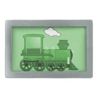 Tren del vapor hebilla cinturón rectangular