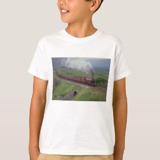 Tren del vapor playera