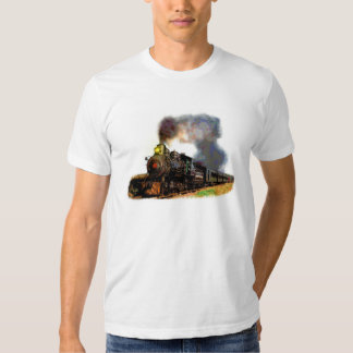 Tren del vapor playeras