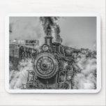 Tren del vapor tapete de ratones