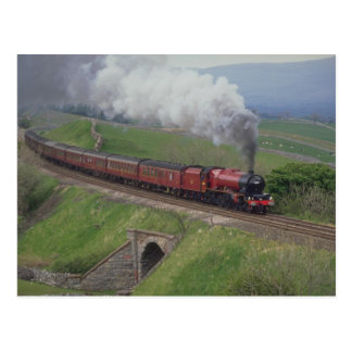Tren del vapor postal