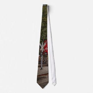 Tren - diesel - mire hacia fuera para la corbata