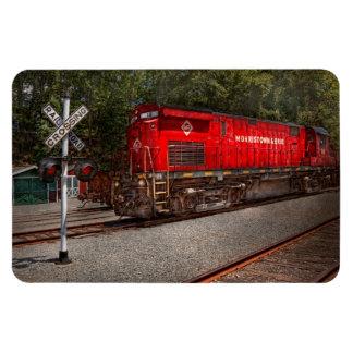 Tren - diesel - Morristown Erie Imán Flexible