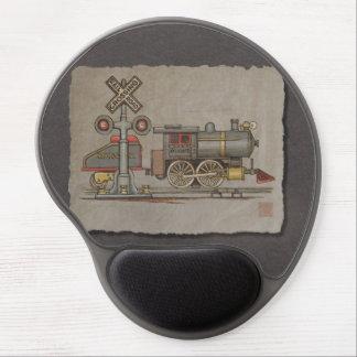 Tren eléctrico del juguete alfombrilla gel