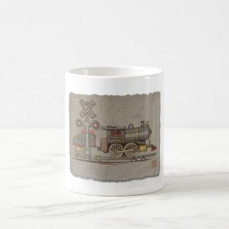 Tren eléctrico del juguete taza de café
