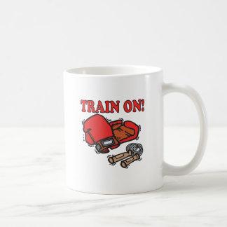 Tren encendido taza