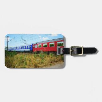 Tren Etiqueta Para Maleta