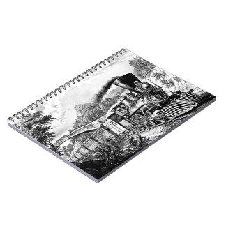 Tren expreso 1870 cuadernos