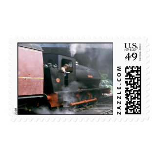 Tren ferroviario del norte nostálgico Postag del Timbres Postales
