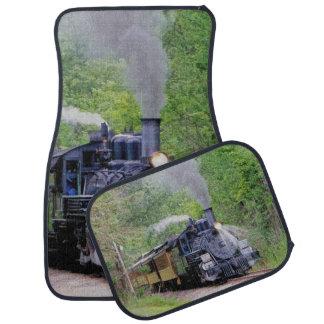 Tren ferroviario del vapor para las esteras del alfombrilla de auto