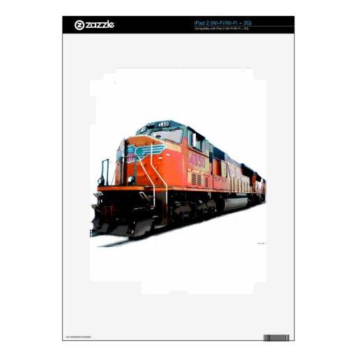 Tren grande calcomanías para el iPad 2