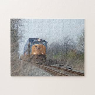 Tren inminente puzzle
