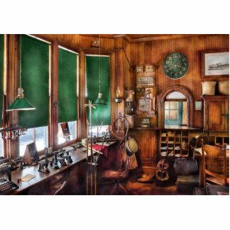 Tren - la oficina de los jefes de estación esculturas fotograficas