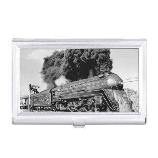 ¡Tren limitado del siglo XX Highball él! Vintage Cajas De Tarjetas De Visita