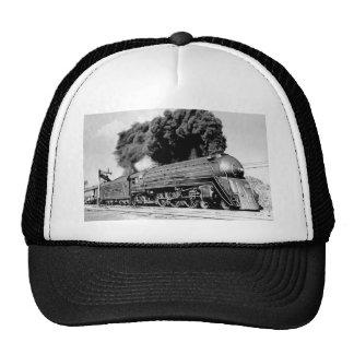 ¡Tren limitado del siglo XX Highball él! Vintage Gorros Bordados