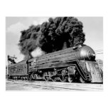 ¡Tren limitado del siglo XX Highball él! Vintage Postal