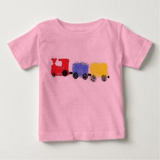 Tren lindo de Choo-Choo Playera De Bebé