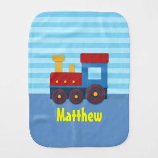 Tren lindo y colorido para el bebé paños para bebé