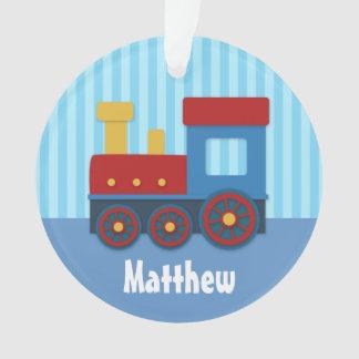 Tren lindo y colorido para los muchachos