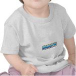 Tren loco de la cupón camiseta