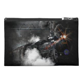 Tren locomotor del negro del motor de vapor del