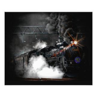 Tren locomotor del negro del motor de vapor del cojinete