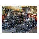 Tren - locomotoras de vapor comunicados personalizados