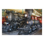 Tren - locomotoras de vapor papeleria
