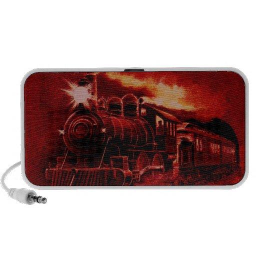 Tren mágico del Victorian del motor de vapor Altavoz De Viajar