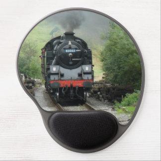 Tren Mousepad del vapor del vintage Alfombrilla De Ratón Con Gel