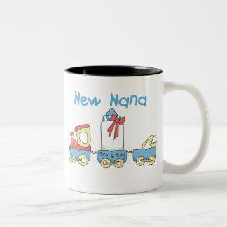Tren nueva Nana es un muchacho Taza