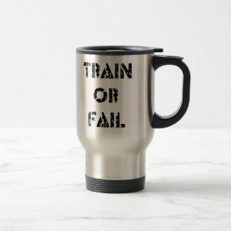 Tren o fall taza de viaje