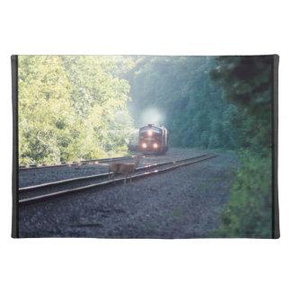 Tren-OCS 8/22/97 Placemats del coche de la oficina Mantel