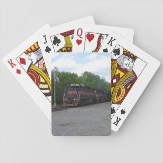 Tren Baraja De Póquer