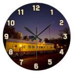 Tren pacífico de la unión en Sacramento vieja Reloj