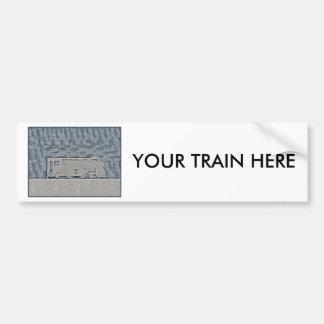 Tren Pegatina Para Auto