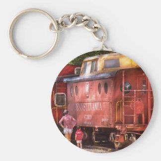 Tren - Pennsylvania, Caboose de la región Llavero Redondo Tipo Pin
