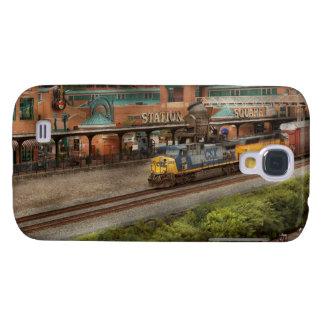 Tren - Pittsburg, PA - cuadrado de la estación Samsung Galaxy S4 Cover