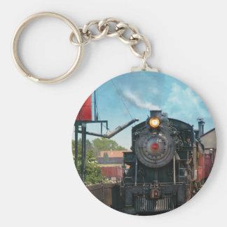 Tren - Strasburg número 9 Llavero Redondo Tipo Pin