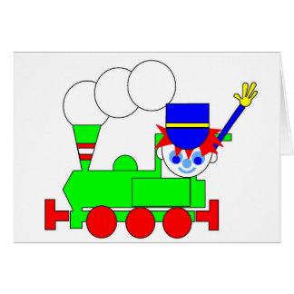 Tren Tarjeta De Felicitación