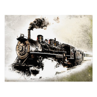 ¡Tren! Postal