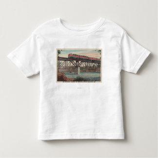 Tren- Tippecanoe/río de Tippecanoe que cruza T Shirt