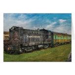 Tren - trabajos de la locomotora de Baldwin Tarjeton