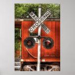 Tren - travesía de ferrocarril impresiones