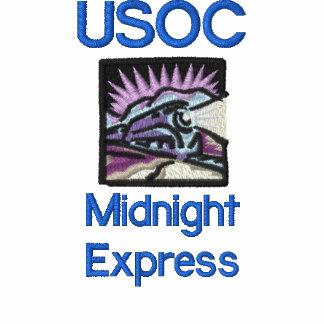 tren, USOC, medianoche expresa Camiseta Polo